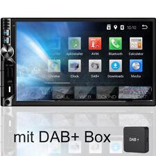 Tristan Auron AUTORADIO mit Bluetooth 2 Din Navi Navigation Android DAB+ GPS