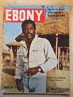Ebony Mar 1973 Richard Roundtree Shaft In Africa Blaxploitation Black Americana