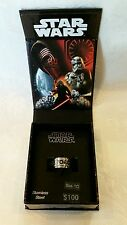 Genuine Star Wars 'MAY THE FORCE BE WITH YOU' Ring (size 10)