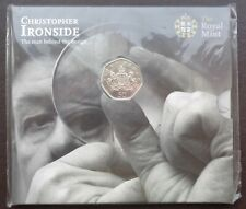 More details for 2013 royal mint 50p coin pack christopher ironside