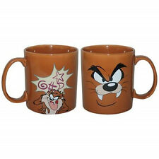 Looney Tunes Tasmanian Devil Taz Big Face Image 14 oz. Ceramic Coffee Mug, New