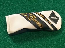 Grand Slam X Speed 1 Driver Headcover - Black White Head Cover Great