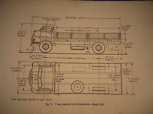 Vauxhall 7 ton lorry and coach. Handbook