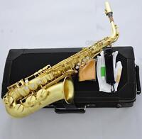 Professional Original Brass Mark VI Alto Saxophone E-Flat Sax High F# With Case