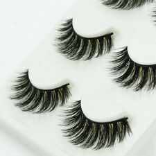 Luxurious Handmade 100% Real Mink Natural Thick Soft Lashes False Eyelashes New