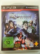 !!! PLAYSTATION ps3 gioco DC Universe Online, usati ma ben!!!