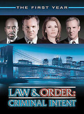 Law  Order: Criminal Intent - The First Year (DVD, 22 Episodes, 6-Disc Set)