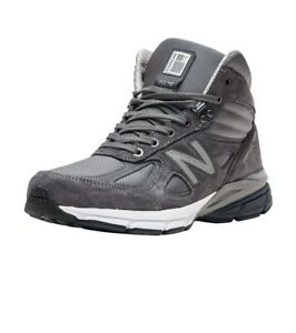 NEW MEN'S NEW BALANCE MO990GR4 GREY SIZE 8.5 MADE IN USA MSRP $229.99