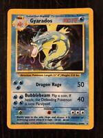 Gyarados 6/102 Holo Rare Base Set 1999 Pokemon Card