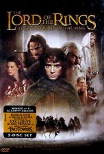 Lord of the Rings: The Fellowship of the Ring (New Sealed 2 DVD Set FS) FreeShip