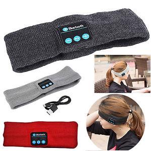 Wireless Bluetooth Headband Sport Headphone Sleep Music Earphone Universal