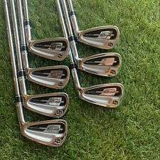 Wilson Staff FG Tour Forged Irons Iron Set 4 to PW Regular Flex GREAT CONDITION