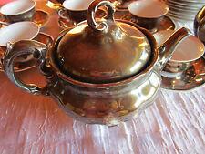Silbergeschirr  8 tlg Kaffeeservice Königszelt Schlesien mit Teekanne Porzellan