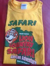 Lion Country Safari T-Shirt Children's Tee Shirt Size Medium 100% Cotton
