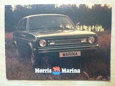 MORRIS MARINA 2 RANGE 1979 UK Mkt Sales Brochure - 3327/B