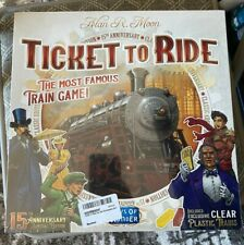 Ticket To Ride: 15th Anniversary Edition - Rare - Limited Edition!