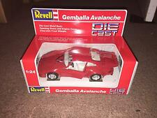 1990 REVELL 1:24 SCALE DIE CAST CAR - GEMBALLA AVALANCHE  <<NIB