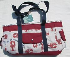 New Tommy Bahama Lobster Insulated Beach Cooler Tote 18x14x10 with Strap