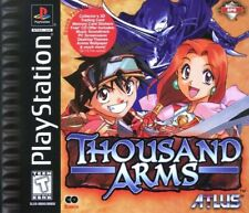 PS1 / Sony Playstation 1 Spiel - Thousand Arms US mit OVP