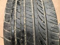 1 x 245 40 18 TYRE WITH 4MM OF TREAD 245/40 ZR18 97W EXTRA LOAD