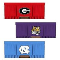 NCAA Window Valance Pick your team- Valance Only