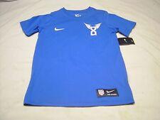 USA Soccer Clint DEMPSEY #8 Blue Soccer NIKE TEE Boys Size M Athletic Cut NEW
