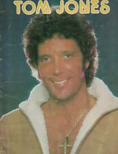 Tom Jones Souvenir Concert Program 1979 Crooner