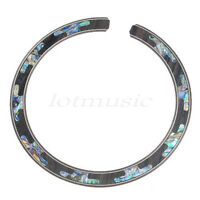 QUALITY NEW 1pc ACOUSTIC GUITAR ABALONE INLAY ROSETTE B-19