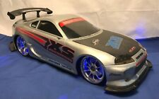 Jada Toys Import Racer 1:10 Scale Toyota Supra Radio Control Car and RC Charger