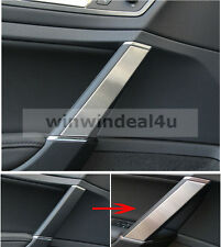 FOR VW VOLKSWAGEN GOLF 7 MK7 INTERIOR DOOR ARMREST TRIM COVER STAINLESS STEEL