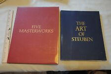 Five Masterworks & The Art of Steuben, by Steuben Glass Beautifully Illustrated