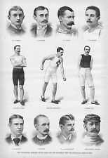 MANHATTAN ATHLETIC CLUB TEAM HISTORY MORTIMER REMINGTON LUTHER CARY MALCOM FORD