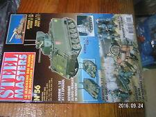 1µ? Revue Steel Masters n°56 M113 espagnol Char S Morser 21 CM Blindés Indochine