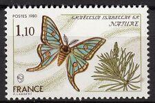 FRANCE TIMBRE NEUF  N° 2089 ** PAPILLON  GRAELLSIA ISABELLAE GR