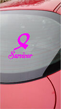 Breast Cancer Survivor Car Truck Window Sticker Vinyl decal stickers