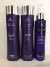 New: Alterna Caviar Moisture Shampoo/Conditioner/Leave In Conditioning Milk Trio