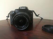 Canon EOS Rebel XS Black EF-S 18-55mm IS Lens Kit - Black (Read Description)