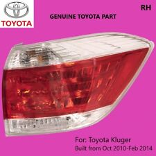 Toyota Kluger Right Tail Light 2010 2011 2012 2013 2014 Driver Side GENUINE