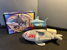 Air Swimmers Remote Control Flying Shark Toy Balloon, Jaws Plush, Ceramic Shark