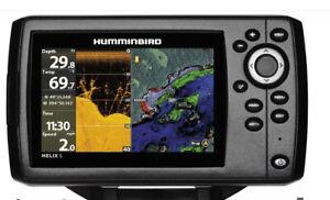 Humminbird HELIX 5 CHIRP DI GPS G2 Fishfinder and Chartplotter no reserve
