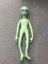 Life size Green Alien Halloween Prop Distortions Unlimited