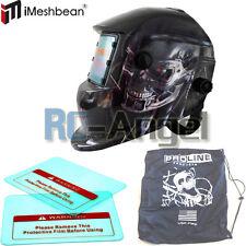 RON Solar Auto Darkening Welding Helmet Arc Tig mig certified mask grinding +Bag