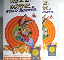 Wile E. Coyote and Road Runner # 2 + # 3 - Warner VHS 1990/91 - mint
