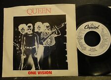 promo QUEEN / ONE VISION 1985 7PRO-9546 White Label promo