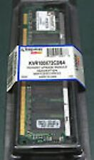 128MB KINGSTON BRAND KVR100X72C 128