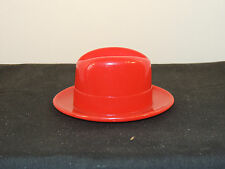 Plastic Red Hat marked Mallory. (6545)