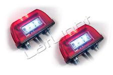 2x LED Kennzeichenleuchte Nummernschildleuchte Kennzeichenbeleuchtung 12 24 Volt