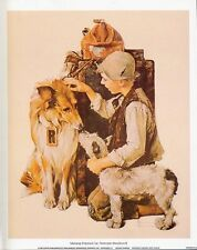 Norman Rockwell Saturday Evening Post MAKING FRIENDS