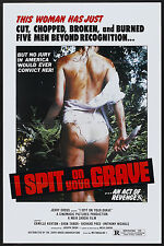 I SPIT ON YOUR GRAVE MINI LAMINATED MOVIE POSTER