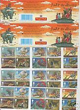 5 Rudyard Kipling LIBRETTI piatto carta scarse FV £ 32.50